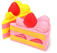 Недорогие -LT.Squishies / Squishy Резиновые игрушки Товары для офиса Стресс и тревога помощи Декомпрессионные игрушки Оригинальные Еда и напитки Все