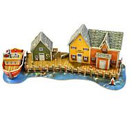 cheap -Logic & Puzzle Toys Toys Rectangle Architecture Exquisite Hand-made Parent-Child Interaction Soft Plastic Kids Adults' 1 Pieces