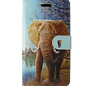 economico -Custodia Per Samsung Galaxy P8 Lite Porta-carte di credito A portafoglio Con supporto Con chiusura magnetica Integrale Elefante Resistente
