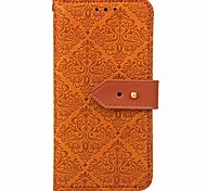 cheap -Case For OnePlus OnePlus 5T 5 Card Holder Wallet with Stand Flip Magnetic Full Body Cases Geometric Pattern Flower Hard PU Leather for