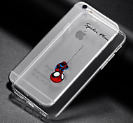 cheap -iPhone 7 Plus Creative Cute Cartoon TPU Phone Case for iPhone 6/6S/6 Plus/6S Plus