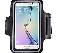 Недорогие -Кейс для Назначение Samsung S9 S8 Спортивные повязки Водонепроницаемый Нарукавная повязка Чехол Сплошной цвет Мягкий пластик для S9 S8 S7