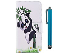 cheap -Case For Samsung Galaxy Note 8 Card Holder Wallet with Stand Flip Magnetic Full Body Cases Panda Hard PU Leather for Note 8