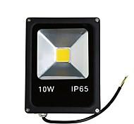 Недорогие -1шт 10W LED прожекторы Водонепроницаемый Декоративная Уличное освещение Тёплый белый Холодный белый AC85V-265V