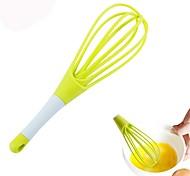cheap -Plastics Creative Kitchen Gadget Egg Whisk, 1pc