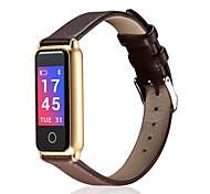 Недорогие -Сенсорный выключатель Смарт Часы Израсходовано калорий Педометры Измерение кровяного давления Анти-потерянный Контроль APP Импульсный