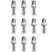preiswerte -10 Stück 4W 350lm E26 / E27 36 LED-Perlen SMD 5730 LED-Lampe Weiß 220-240V