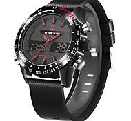 Недорогие -Спортивные часы Будильники Многофункциональные часы Показ времени Многофункциональный Универсальный Общий Повседневные часы будильник С