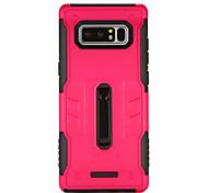 abordables -Funda Para Samsung Galaxy Nota 8 con Soporte Funda Trasera Armadura Dura ordenador personal para Note 8