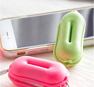 abordables -organizador de cables de gestión de cables abs iphone 8 plus / 7 plus / 6s plus / 6 plus