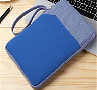 cheap -Case For iPad Mini 4 iPad Mini 3/2/1 iPad 4/3/2 iPad mini 4 Wallet Shockproof Pouch Bag Solid Colored Hard Textile PU Leather for
