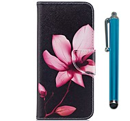 cheap -Case For Samsung A8 2018 A5(2017) Card Holder Wallet with Stand Flip Magnetic Full Body Cases Flower Hard PU Leather TPU for A3(2017)