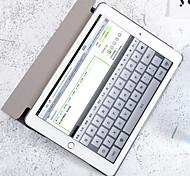 abordables -Coque Pour Apple iPad Air 2 iPad (2017) Porte Carte Portefeuille Avec Support Motif Mise en veille automatique Bande dessinée Dur faux