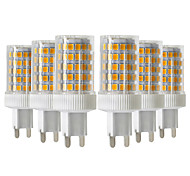 abordables -YWXLIGHT® 6pcs 10W 900-1000 lm G9 Luces LED de Doble Pin T 86 leds SMD 2835 Regulable Blanco Cálido Blanco Fresco Blanco Natural 220-240V