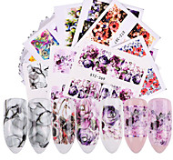 cheap -48 Stickers & Tapes Water Transfer Sticker Nail Sticker Flower Nail Decals Stickers Nail Art Design