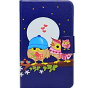 economico -Custodia Per Samsung Galaxy Tab 3 Lite Porta-carte di credito Con supporto Con chiusura magnetica Fantasia/disegno Integrale Fantasia