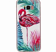 cheap -Case For Samsung Galaxy S8 Plus S8 Pattern Back Cover Flamingo Soft TPU for S8 Plus S8 S7 edge S7 S6 edge plus S6 edge S6 S5 S4 S3