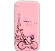 cheap -Case For Wiko U Feel Lite Robby Transparent Pattern Back Cover Eiffel Tower Soft TPU for Wiko U Feel Lite Wiko U Feel Wiko Sunny Wiko