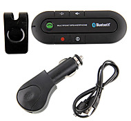 cheap -Wireless Hands-free Bluetooth Car Kit Car V4.0 Sun visor style