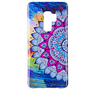 cheap -Case For Samsung Galaxy S9 S9 Plus Glow in the Dark IMD Pattern Back Cover Mandala Shine Soft TPU for S9 Plus S9 S8 Plus S8 S7 edge S7 S6