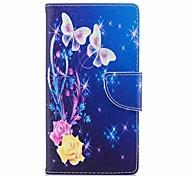 preiswerte -Hülle Für Sony Xperia L2 Xperia XA2 Ultra Kreditkartenfächer Geldbeutel mit Halterung Flipbare Hülle Muster Ganzkörper-Gehäuse