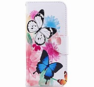 cheap -Case For Samsung Galaxy S9 S9 Plus Card Holder Wallet with Stand Pattern Full Body Cases Butterfly Hard PU Leather for S9 Plus S9 S8 Plus