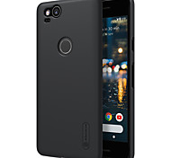 cheap -Case For Google Pixel 2 XL Pixel 2 Shockproof Frosted Back Cover Solid Color Hard PC for Google Pixel 2 XL Pixel 2