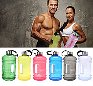cheap -Sports Water Bottles Casual Fitness Multifunctional Plastics - 1 Black Dark Blue Sky Blue Red Green