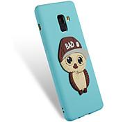 cheap -Case For Samsung Galaxy A8 2018 A8 Plus 2018 Pattern DIY Back Cover Owl Soft TPU for A3(2017) A5(2017) A8+ 2018 A8 2018 A5(2016) A3(2016)