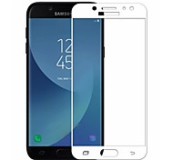 cheap -Screen Protector Samsung Galaxy for J7 (2017) Tempered Glass 1 pc Front Screen Protector 3D Curved edge 2.5D Curved edge 9H Hardness High