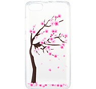 cheap -Case For Wiko U Feel Lite Pulp Fab 4G Pattern Back Cover Flower Tree Soft TPU for Wiko U Feel Lite Wiko U Feel Wiko Sunny Wiko Robby Wiko