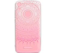 cheap -Case For Wiko U Feel Lite Robby Transparent Pattern Back Cover Flower Soft TPU for Wiko U Feel Lite Wiko U Feel Wiko Sunny Wiko Robby