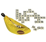 cheap -Bananagrams Reading Toys Toys Square Family Parent-Child Interaction Plastic Shell 120 Pieces