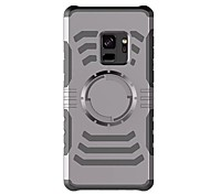 cheap -Case For Samsung Galaxy S9 S9 Plus Armband Armband Solid Color Hard Plastic for S9 Plus S9 S8 Plus S8