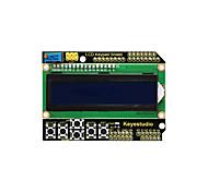 cheap -Keyestudio 1602LCD Keypad Shield For Arduino LCD Display ATMEGA2560 For Raspberry Pi UNO Blue Screen Blacklight Module