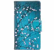 cheap -Case For Sony Xperia L2 Xperia XA2 Ultra Card Holder Wallet with Stand Flip Pattern Full Body Cases Flower Hard PU Leather for Xperia XA2