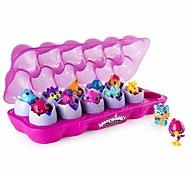 baratos -Bonecos, Figuras de ação Brinquedos Oval Plásticos Unisexo 12 Peças