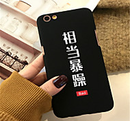 cheap -Case For Apple iPhone X / iPhone 7 Plus Pattern Back Cover Word / Phrase Hard Acrylic for iPhone X / iPhone 8 Plus / iPhone 8