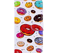 Недорогие -Кейс для Назначение Apple iPhone X iPhone 6 Бумажник для карт Флип С узором Чехол Продукты питания Твердый Кожа PU для iPhone X iPhone 8