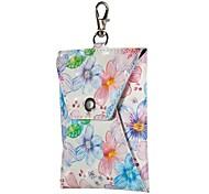 Недорогие -Подвеска на сумку / телефон / брелокй Чехол для наушников Кабельный органайзер Кожа PU Macbook Huawei Xiaomi iPhone 8 Plus / 7 Plus / 6S