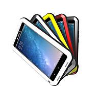 Недорогие -Кейс для Назначение Xiaomi Mi Max 2 Вода / Грязь / Надежная защита от повреждений Чехол Сплошной цвет Твердый Металл для Xiaomi Mi Max 2