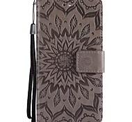 Недорогие -Кейс для Назначение SSamsung Galaxy Note 8 Note 5 Кошелек Флип Чехол Сплошной цвет Твердый Кожа PU для Note 8 Note 5 Note 4 Note 3