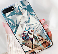 cheap -Case For Apple iPhone X iPhone 7 Plus Pattern Back Cover Geometric Pattern Soft TPU for iPhone X iPhone 8 Plus iPhone 8 iPhone 7 Plus