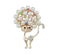 cheap -Women's Brooches - Cat Basic, Fashion Brooch Gold For Daily / Date