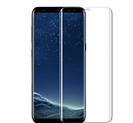 cheap -Screen Protector Samsung Galaxy for S8 Tempered Glass 1 pc Front Screen Protector 3D Curved edge Anti-Fingerprint Scratch Proof Ultra