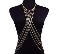 cheap -Belly Chain / Necklace Belly Chain - Women's Gold Sexy / Fashion / Bikini Body Jewelry For Bikini / Going out