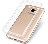 cheap -Case For Samsung Galaxy A7(2017) A5(2017) Transparent Back Cover Solid Colored Soft TPU for A3(2017) A5(2017) A7(2017) A7(2016) A5(2016)