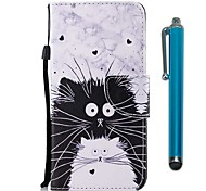 cheap -Case For Huawei Mate 10 lite Mate 10 pro Card Holder Wallet with Stand Flip Magnetic Full Body Cases Cat Hard PU Leather for Mate 10 lite