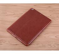 abordables -Coque Pour Apple iPad mini 4 Antichoc Avec Support Motif Mise en veille automatique Couleur unie Dur faux cuir pour iPad Mini 4 iPad Mini