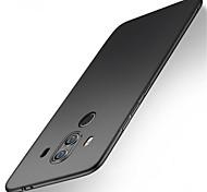 Недорогие -Кейс для Назначение Huawei Mate 10 lite Mate 10 pro Защита от удара Матовое Кейс на заднюю панель Однотонный Твердый ПК для Mate 10 lite